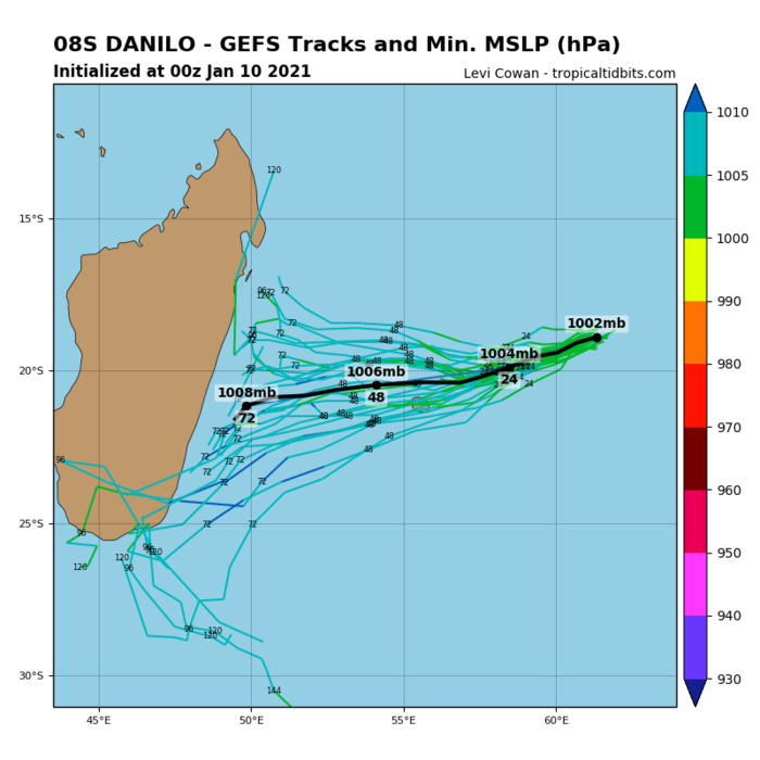 REMNANTS OF 08S(DANILO). GFS IS NOT RE-DEVELOPING THIS SYSTEM.
