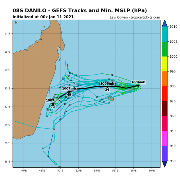 REMNANTS OF 08S(DANILO). MODELS ARE NOT RE-DEVELOPING THIS SYSTEM.