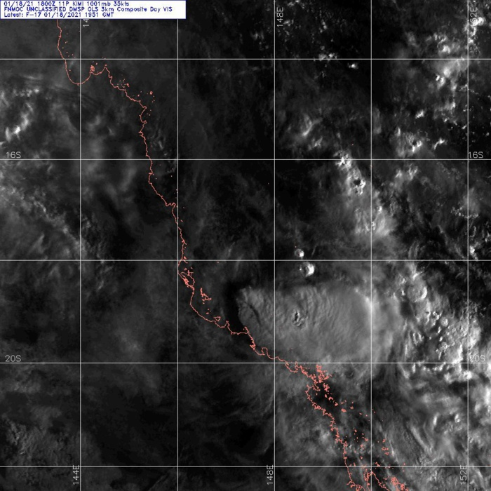 18/1851UTC. DMSP. SATELLITE IMAGERY SHOWS THE SYSTEM CONTINUING TO UNRAVEL AS THE  ASSOCIATED CONVECTION HAS SHEARED FURTHER SOUTHEASTWARD FROM THE  RAGGED LOW LEVEL CIRCULATION (LLC) THAT HAS BECOME QUASI-STATIONARY.