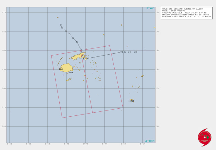 INVEST 92P. TROPICAL CYCLONE FORMATION ALERT(TCFA).
