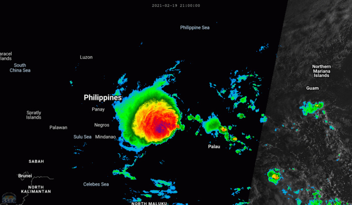 01W(DUJUAN). 20/02UTC. ANIMATED MULTISPECTRAL SATELLITE  IMAGERY (MSI) DEPICTS A LARGE CONVECTIVE MASS SHEARED NORTHWEST AWAY  FROM A FULLY EXPOSED LOW LEVEL CIRCULATION CENTER (LLCC) DUE TO  STRONG LOW VERTICAL WIND SHEAR (VWS).