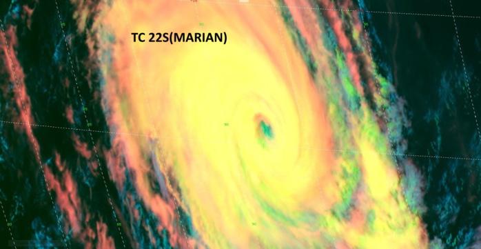 22S(MARIAN). 28/0720UTC. H8/500M.