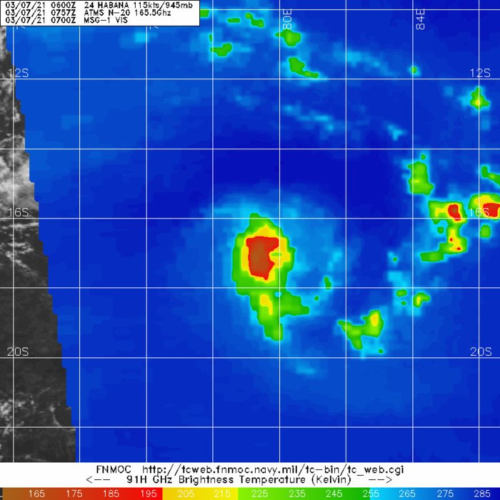 24S(HABANA). 07/0757UTC. WEAKENING MICROWAVE SIGNATURE COMPARED TO 24H EARLIER.