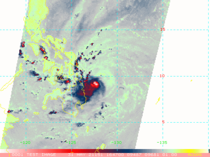 TS 04W. 31/17UTC. MICROWAVE SHOWED CONVECTIVE BANDING WRAPPING INTO A DEFINED LOW LEVEL CIRCULATION CENTER.