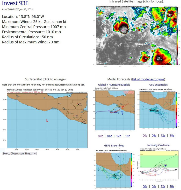 EASTERN NORTH PACIFIC. 12/06UTC. DETAILS FOR INVEST 93E.