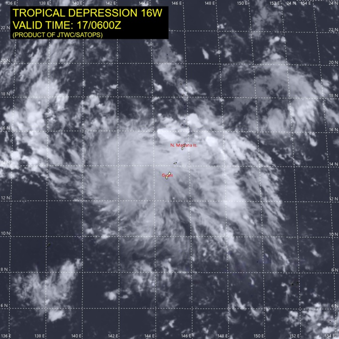 REMNANTS OF TD 16W.
