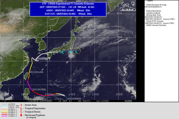 SUPER TYPHOON 19W(CHANTHU) REACHED CATEGORY 5 ON 3 SEPARATE TIMES DURING ITS LIFESPAN.