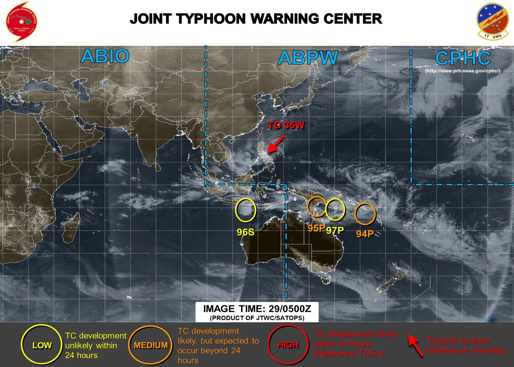 Activité cyclonique en dehors des Mascareignes