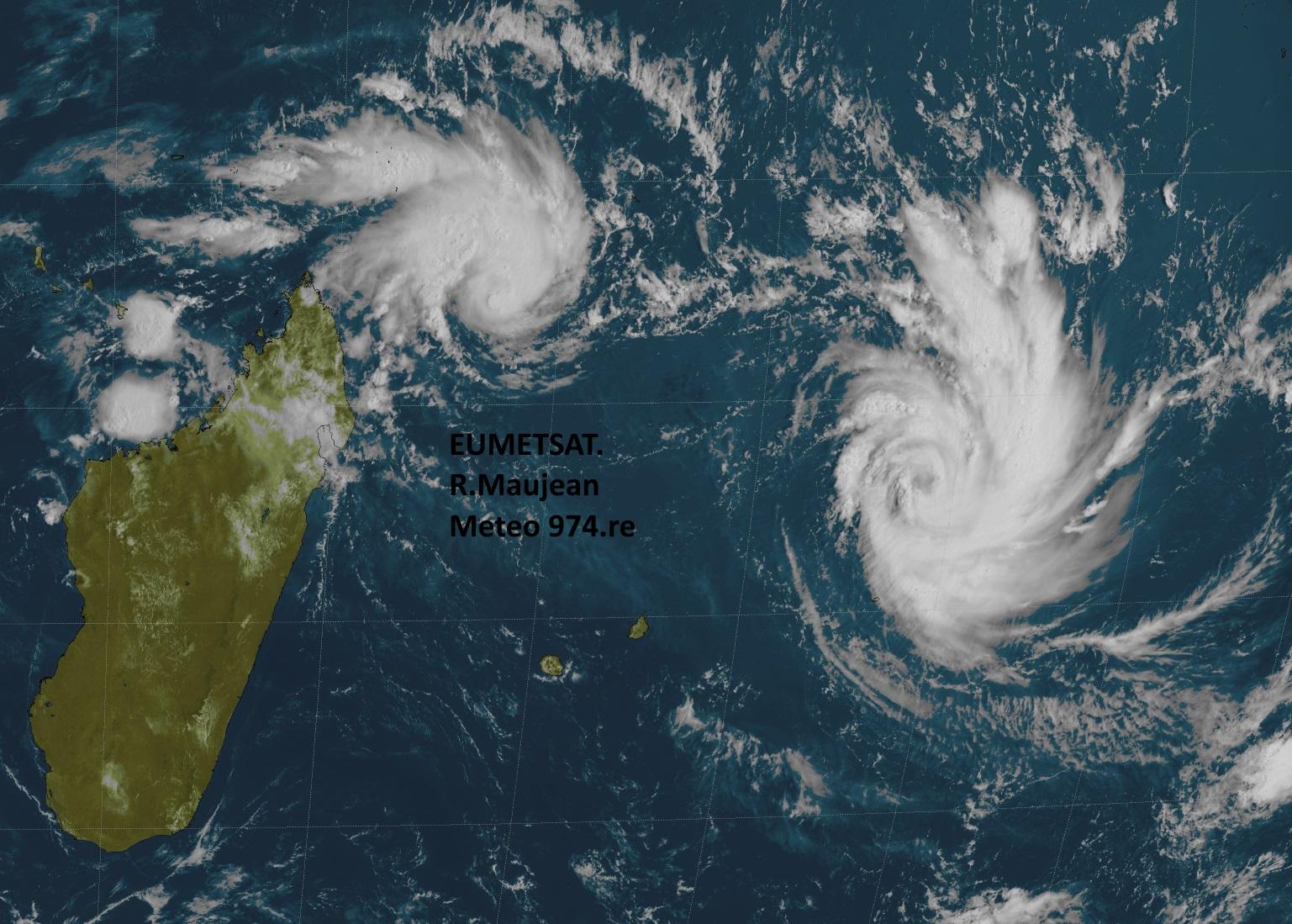 Satellite de 10h. R.Maujean.