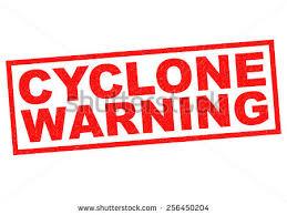 22h: Cyclone intense GELENA: la pression en chute à Rodrigues, bulletin de cyclone de MMS