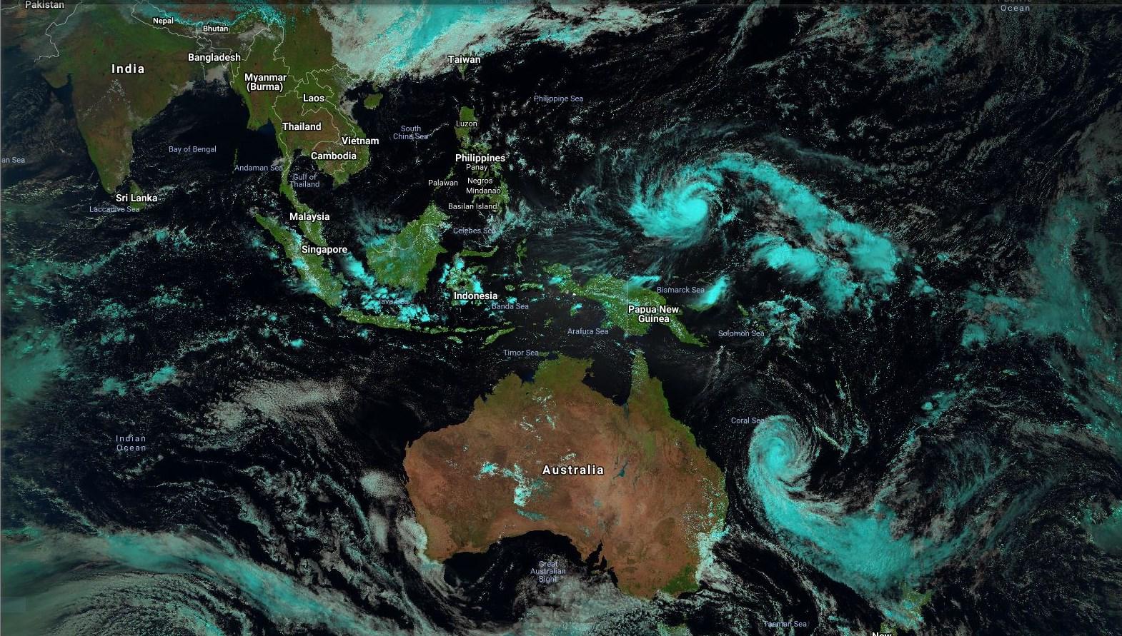 """CYCLONES: """"heureusement que nous avons le Pacifique Nord Ouest"""" (VIDEO)"""