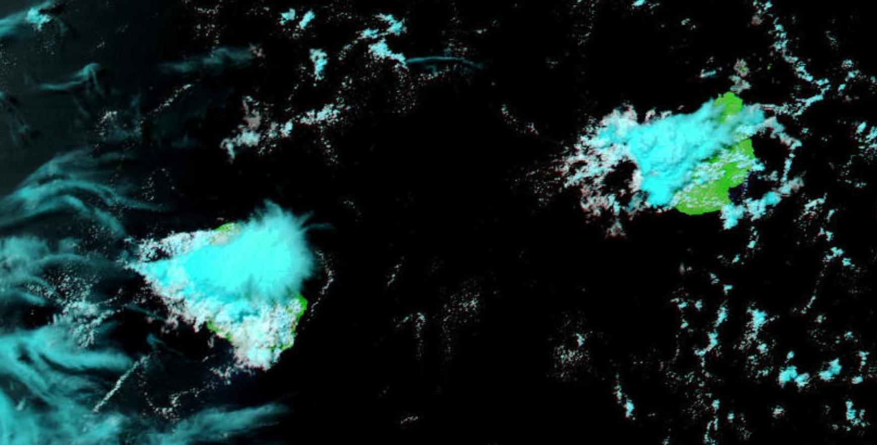 Les Iles Soeurs vues par Aqua à 14h.