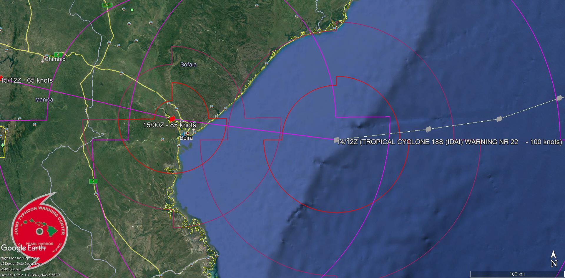 WARNING 22/JTWC