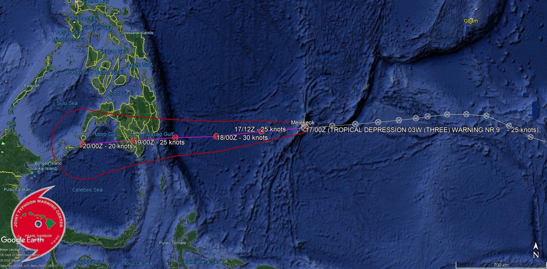 WARNING 9/JTWC