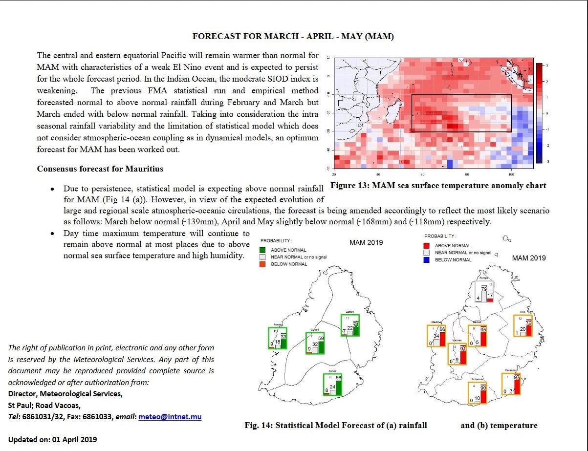 35.1°c sous abri à Port Louis en Février: rapport de la météo mauricienne