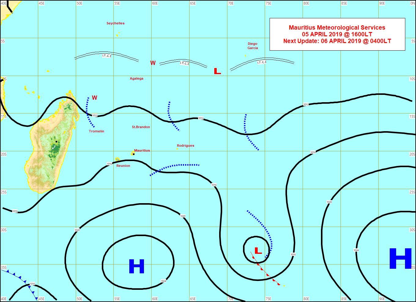 Le vent d'est sud-est  se renforce un peu sur les Iles Soeurs.