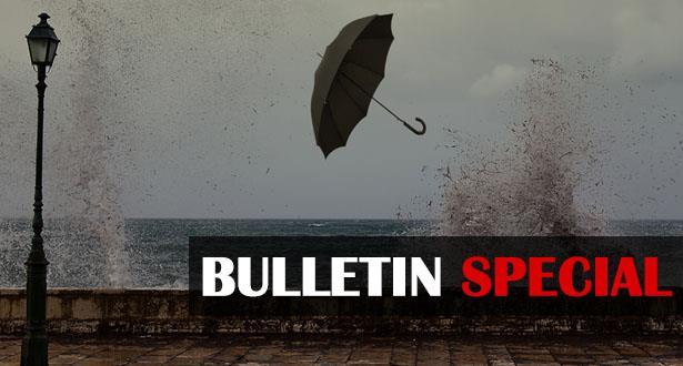 MAURICE: avis de fortes pluies en cours