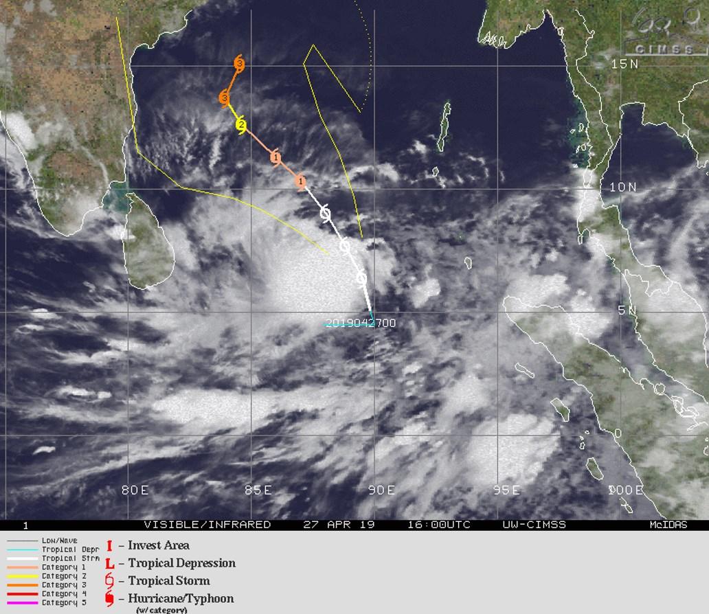 TC 01B: WARNING 3/JTWC