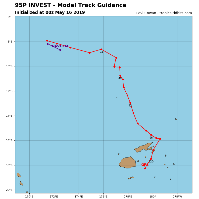 GUIDANCE FOR INVEST 95P
