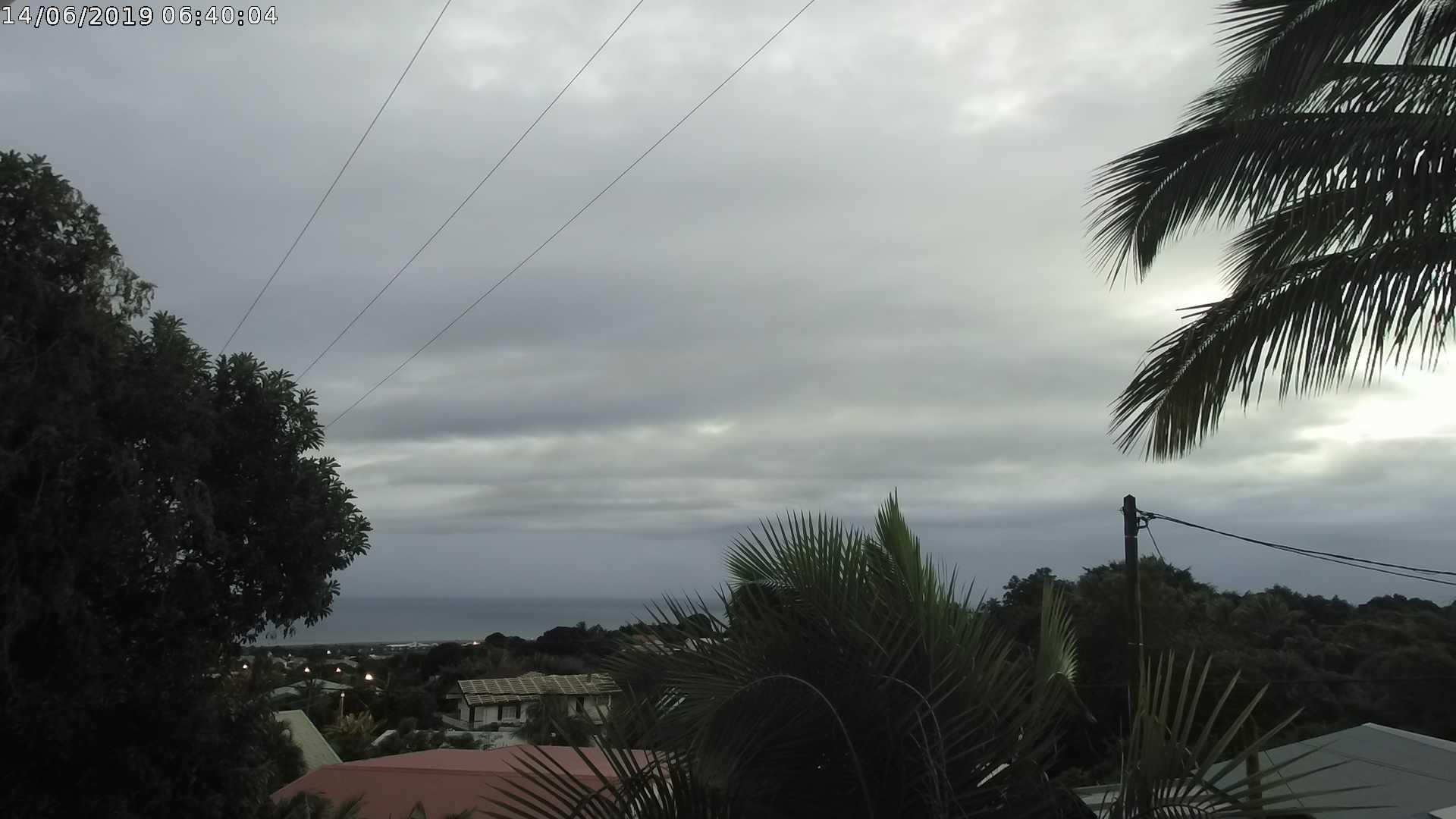 6h40: ciel temporairement nuageux sur le nord ce matin. CYCLOTROPIC