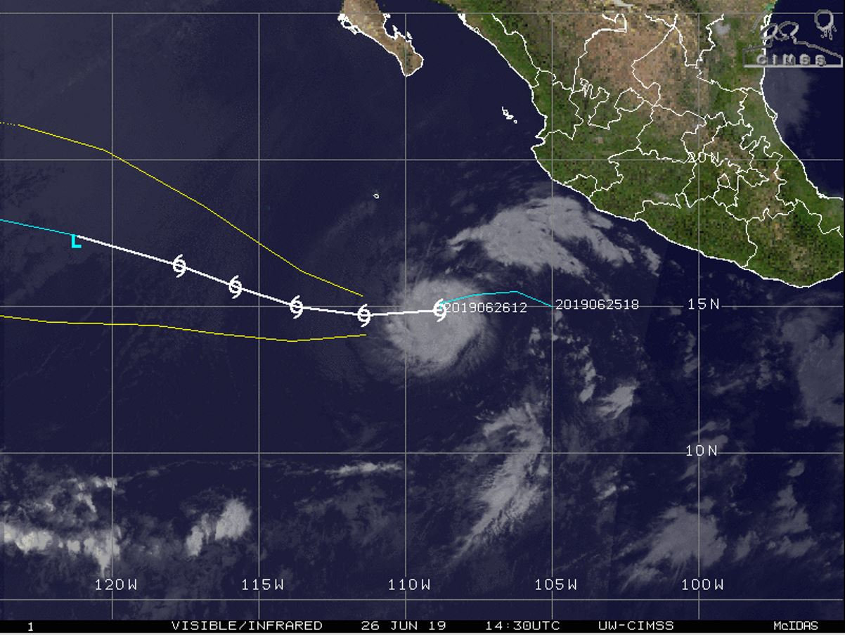 FORECAST PEAK INTENSITY WITHIN 24HOURS: 45KNOTS
