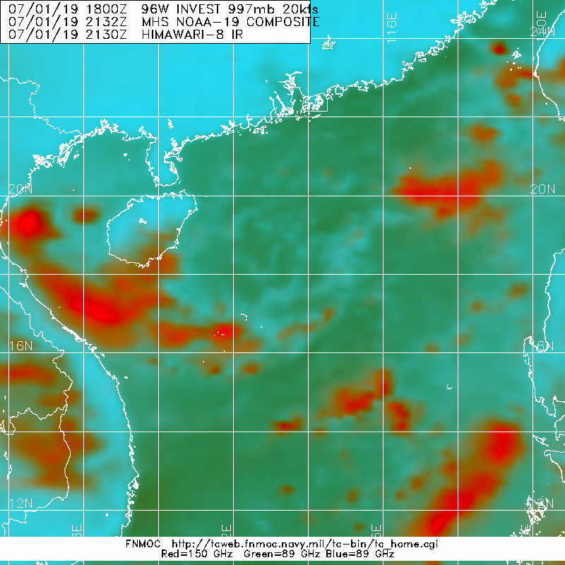2132UTC: MICROWAVE DATA SUGGEST EXPOSED LOW LEVEL CIRCULATION CENTER
