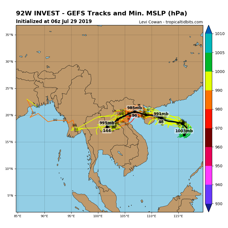 TRACK AND INTENSITY GUIDANCE