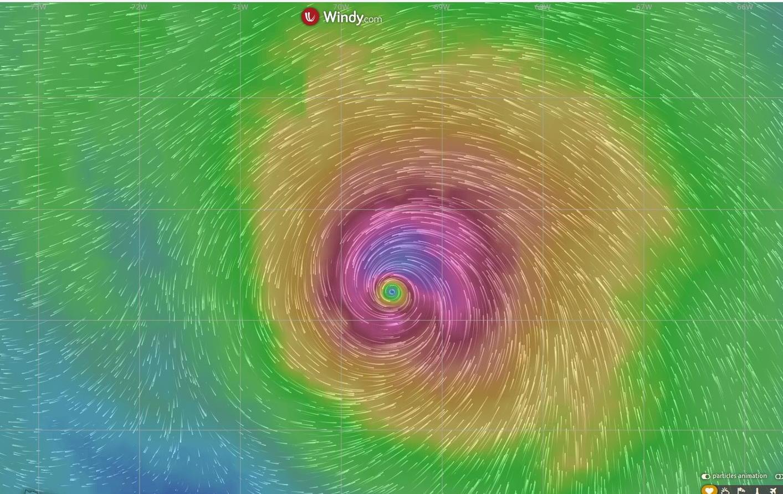 [video]: Ouragan DORIAN, impact majeur possible pour la Floride dans 4 jours