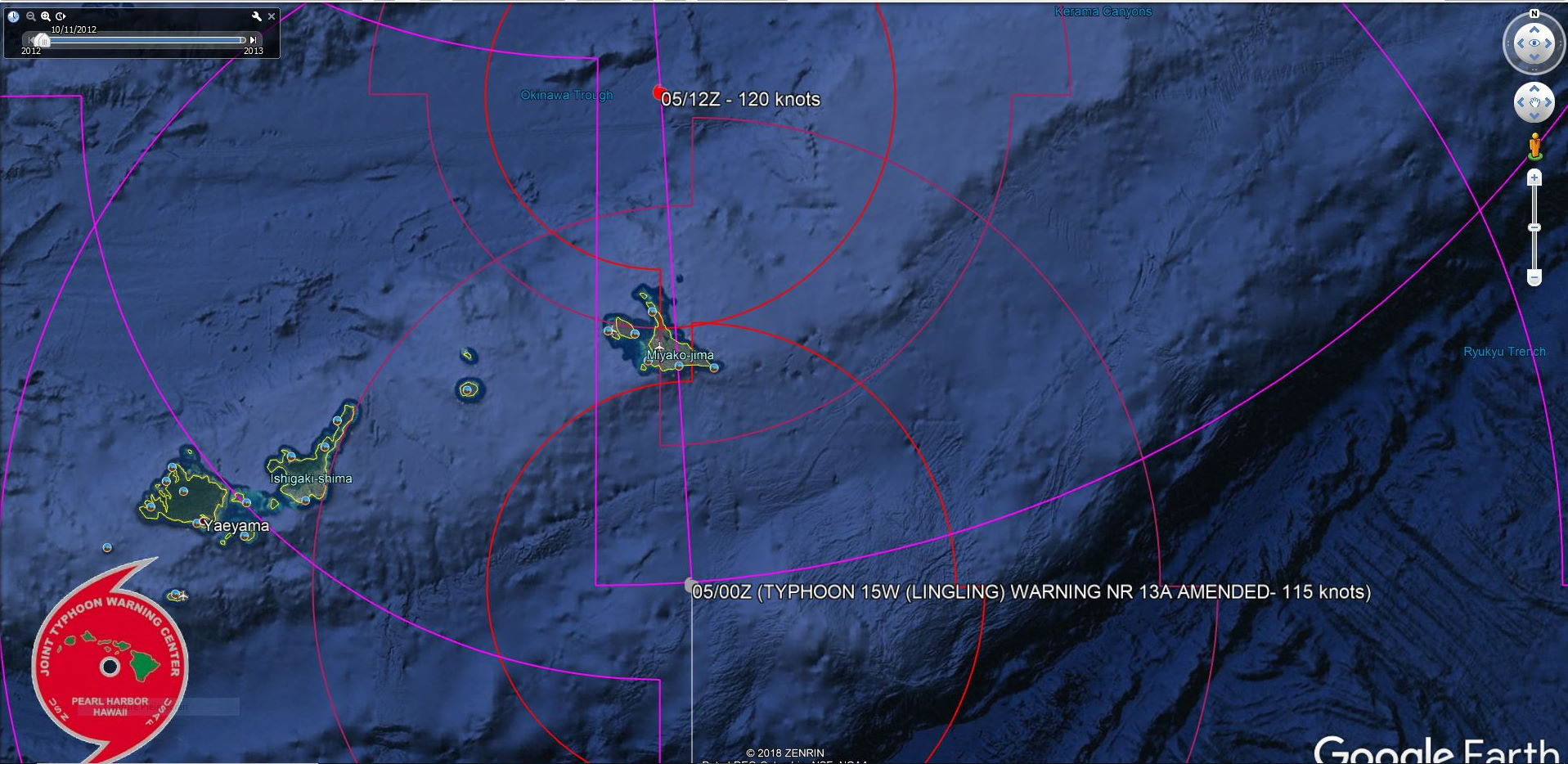 15W: TRACKING OVER MIYAKOJIMA