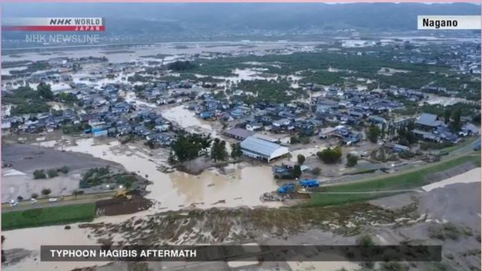 Inondations catastrophiques à Nagano. NHK WORLD
