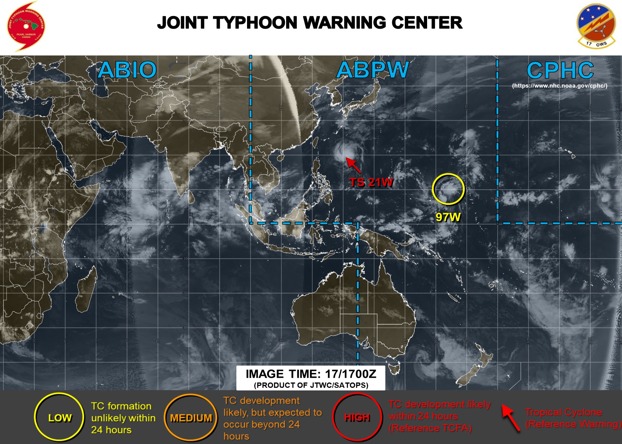TS Negorui(21W): update and Invest 97W: update