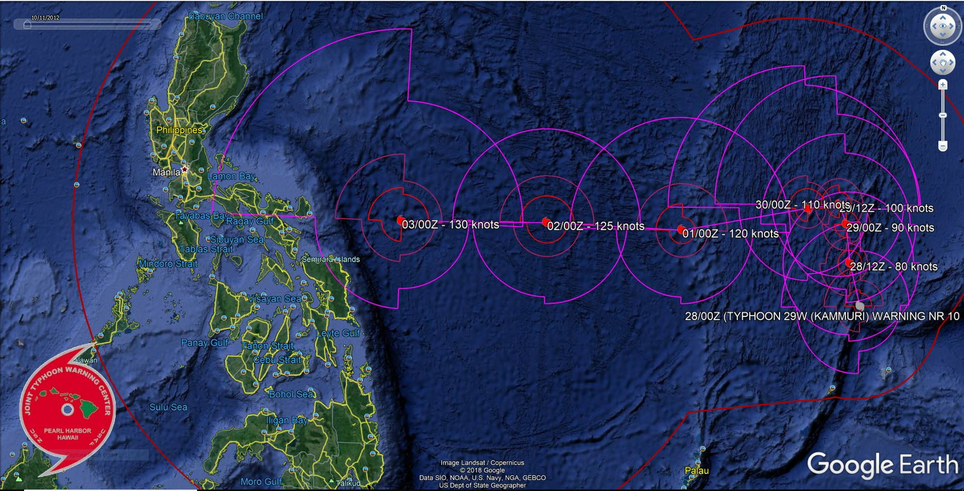 FORECAST TO BE A SUPER TYPHOON IN 5 DAYS