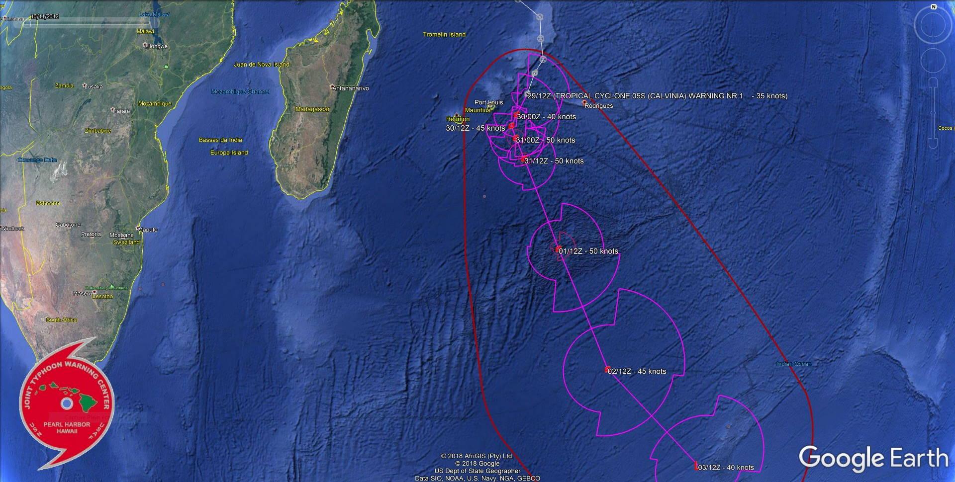 WARNING 1/JTWC
