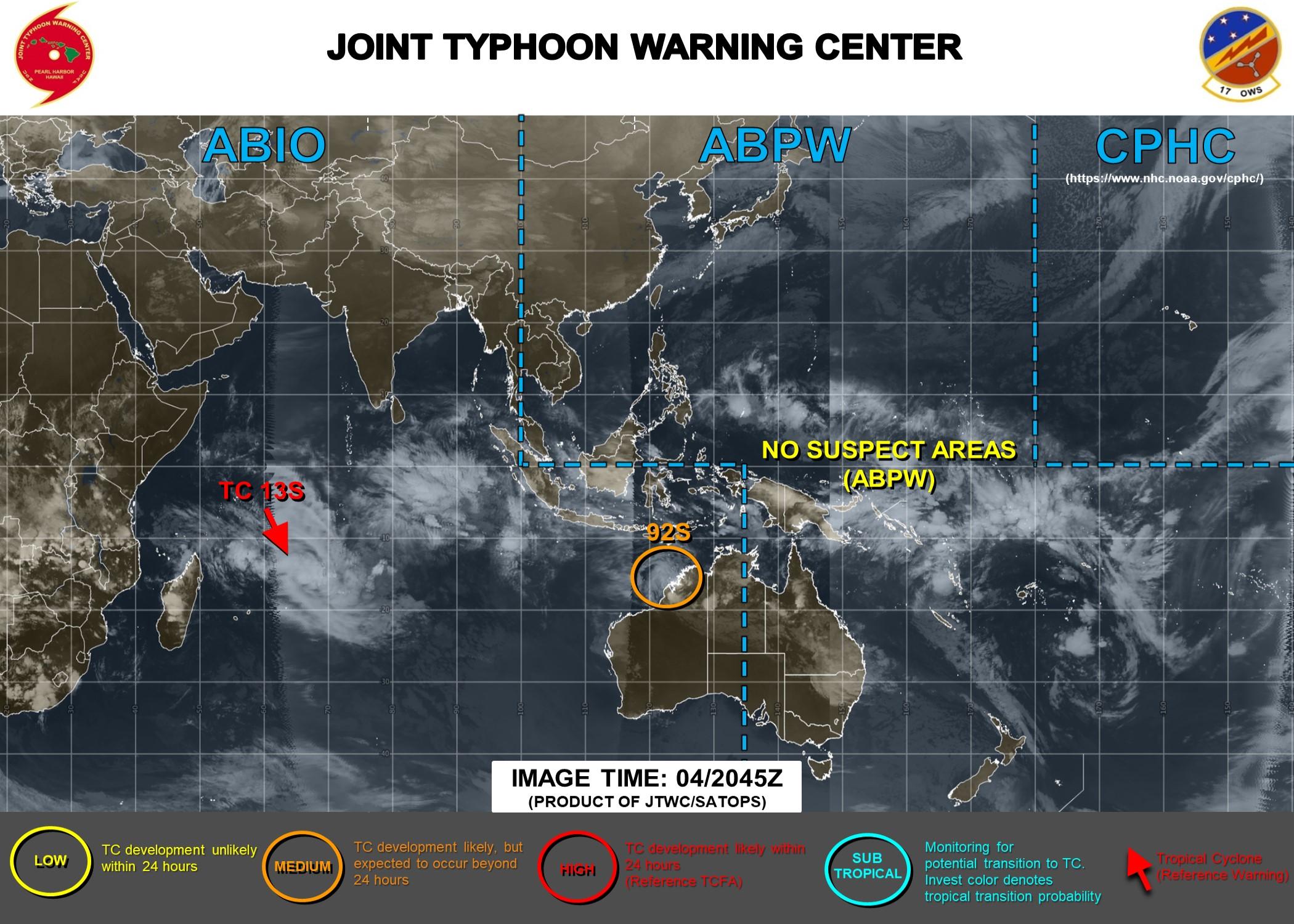 JTWC AT 02/04 21UTC