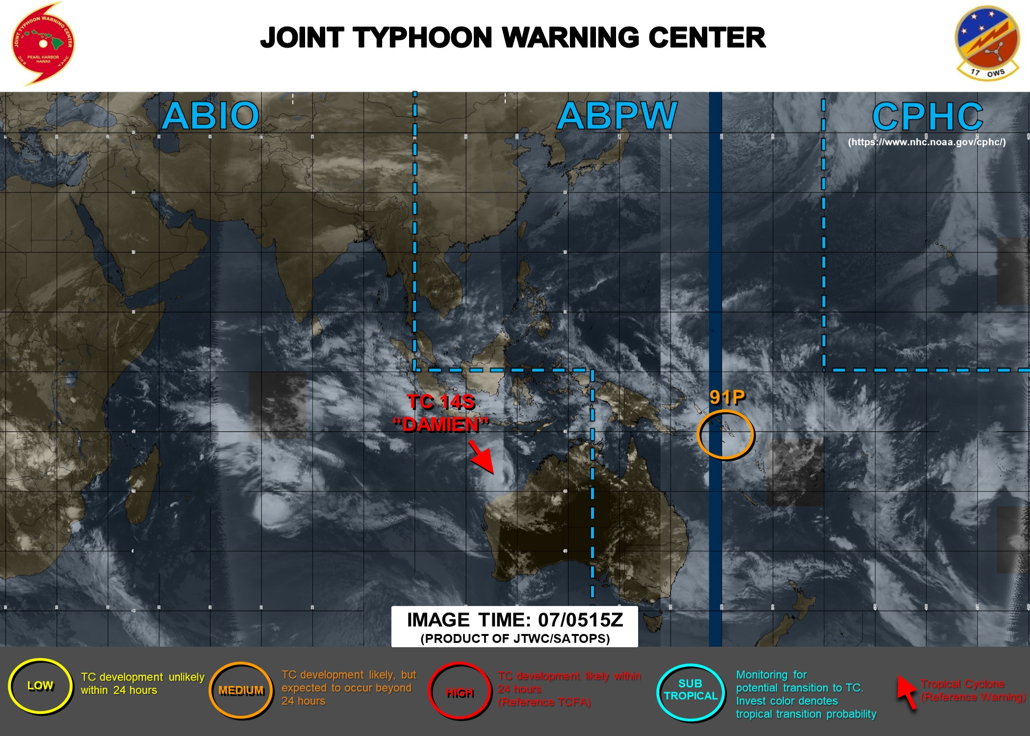 South Pacific: Invest 91P now Medium, expected to intensify significantly next 4 days