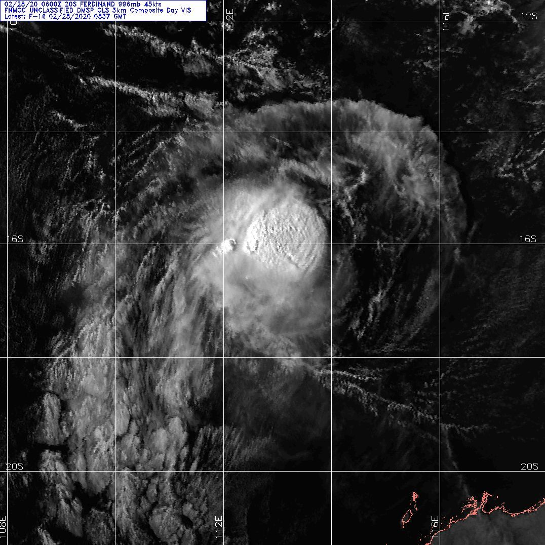 TC 20S(FERDINAND) and over-land TC 19P(ESTHER): 28/02 09UTC Update