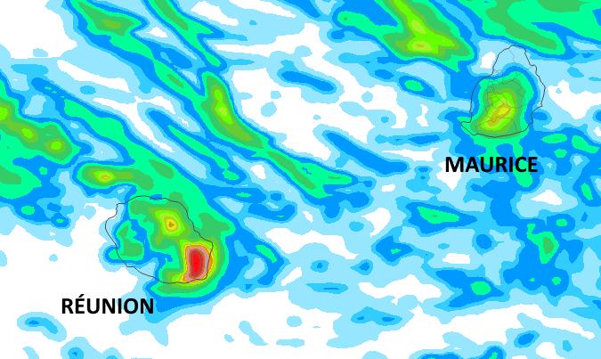 Le modèle AROME de Météo France indique bien les zones où les cumuls de pluie les plus importants sont attendus d'ici la fin de la journée de Jeudi sur une durée de 42h. MÉTÉOCIEL