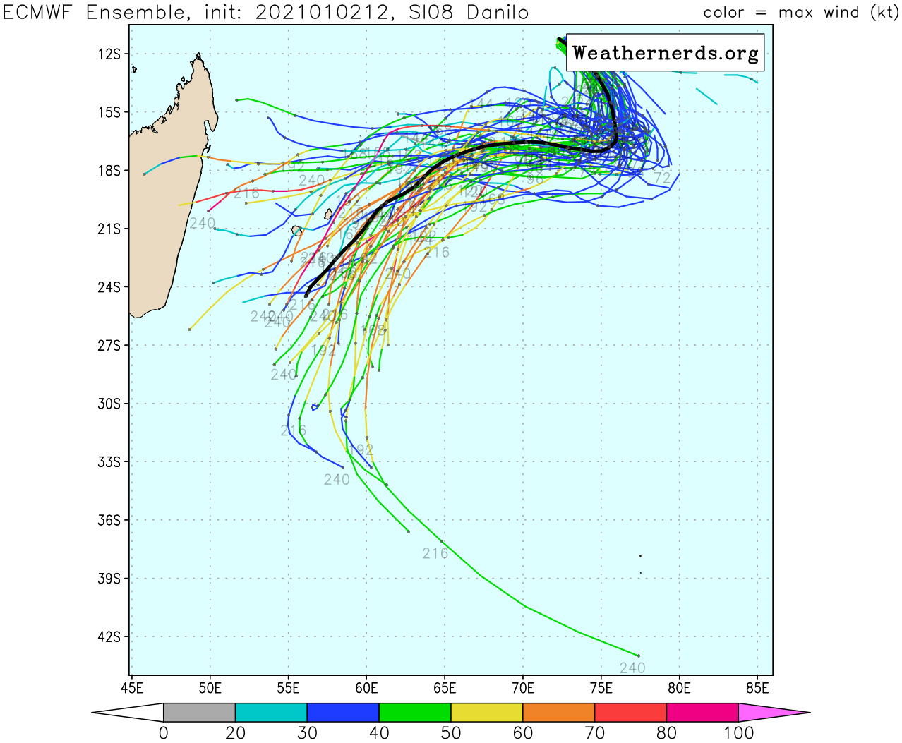 NUMERICAL MODEL GUIDANCE HAS COME INTO  BETTER AGREEMENT WITH THE OVERALL TRACK PHILOSOPHY BUT CONTINUES TO  SHOW SIGNIFICANT DIFFERENCES IN TRACK SPEED AND TRACK ORIENTATION.  THE JTWC FORECAST CONTINUES TO FAVOR THE ECMWF AND ECMWF ENSEMBLE  MEAN SOLUTIONS, AND IS CONSISTENT WITH THE PREVIOUS JTWC FORECAST.