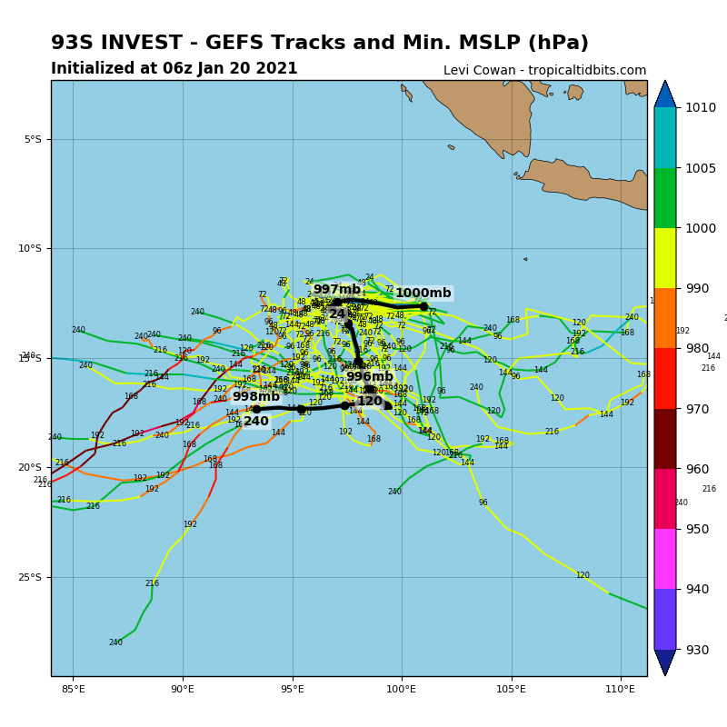 INVEST 93S. GLOBAL MODELS ARE IN GOOD  AGREEMENT THAT INVEST 93S WILL TRACK GENERALLY WESTWARD AS IT  CONSOLIDATES AND STRENGTHENS.