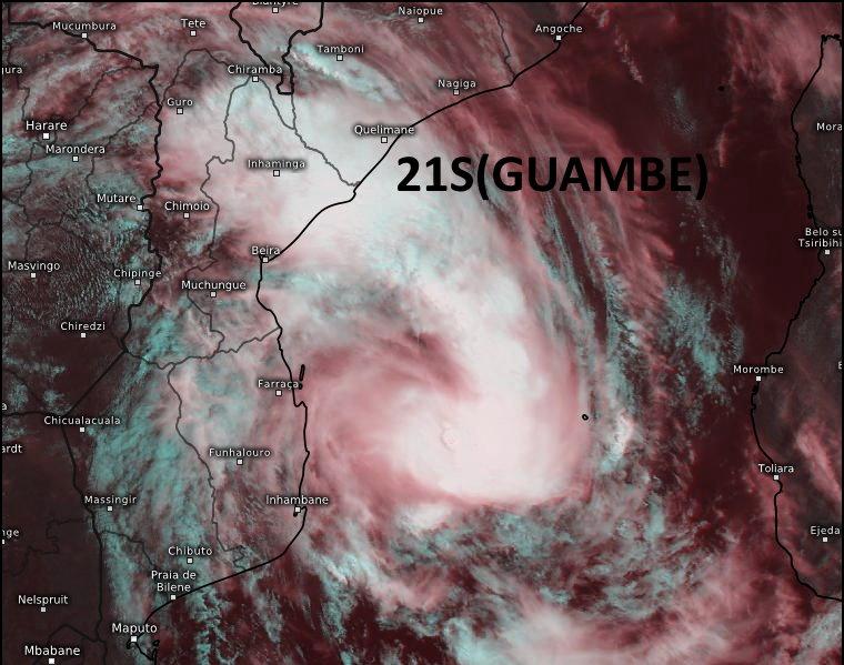 21S(GUAMBE). 18/08UTC. INTENSIFYING SYSTEM. Eumetsat. Enhanced by Patrick Hoareau.