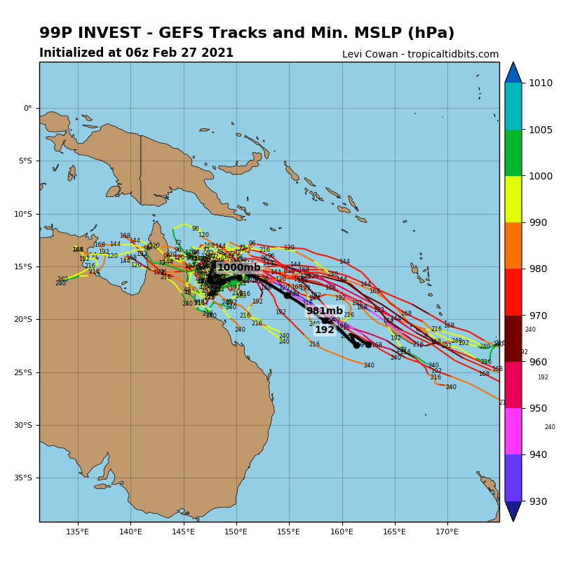 INVEST 99P. NUMERICAL MODEL GUIDANCE SUGGEST THE SYSTEM WILL NOT DEVELOP WITHIN THE NEXT 24H.