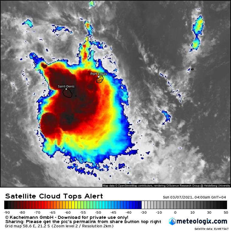 INVEST 91S. 07/00UTC. ANIMATED ENHANCED INFRARED  (EIR) SATELLITE IMAGERY AND A 062025Z GMI 89GHZ SATELLITE IMAGE  DEPICT QUICKLY CONSOLIDATING AND FLARING CONVECTION.