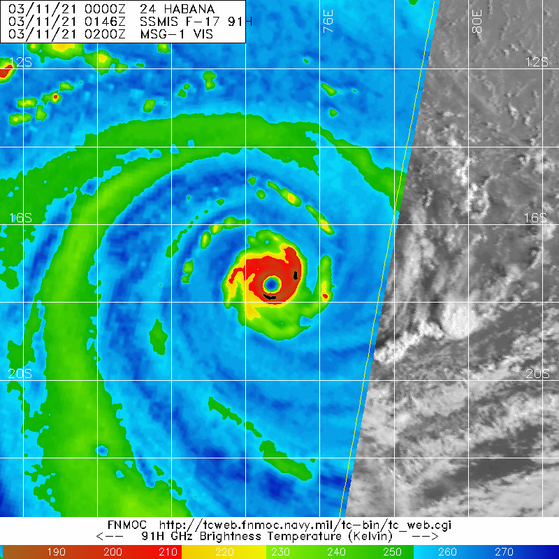 24S(HABANA). 11/0146UTC. MICROWAVE SHOWED A COMPLETED EYE-WALL REPLACEMENT CYCLE.