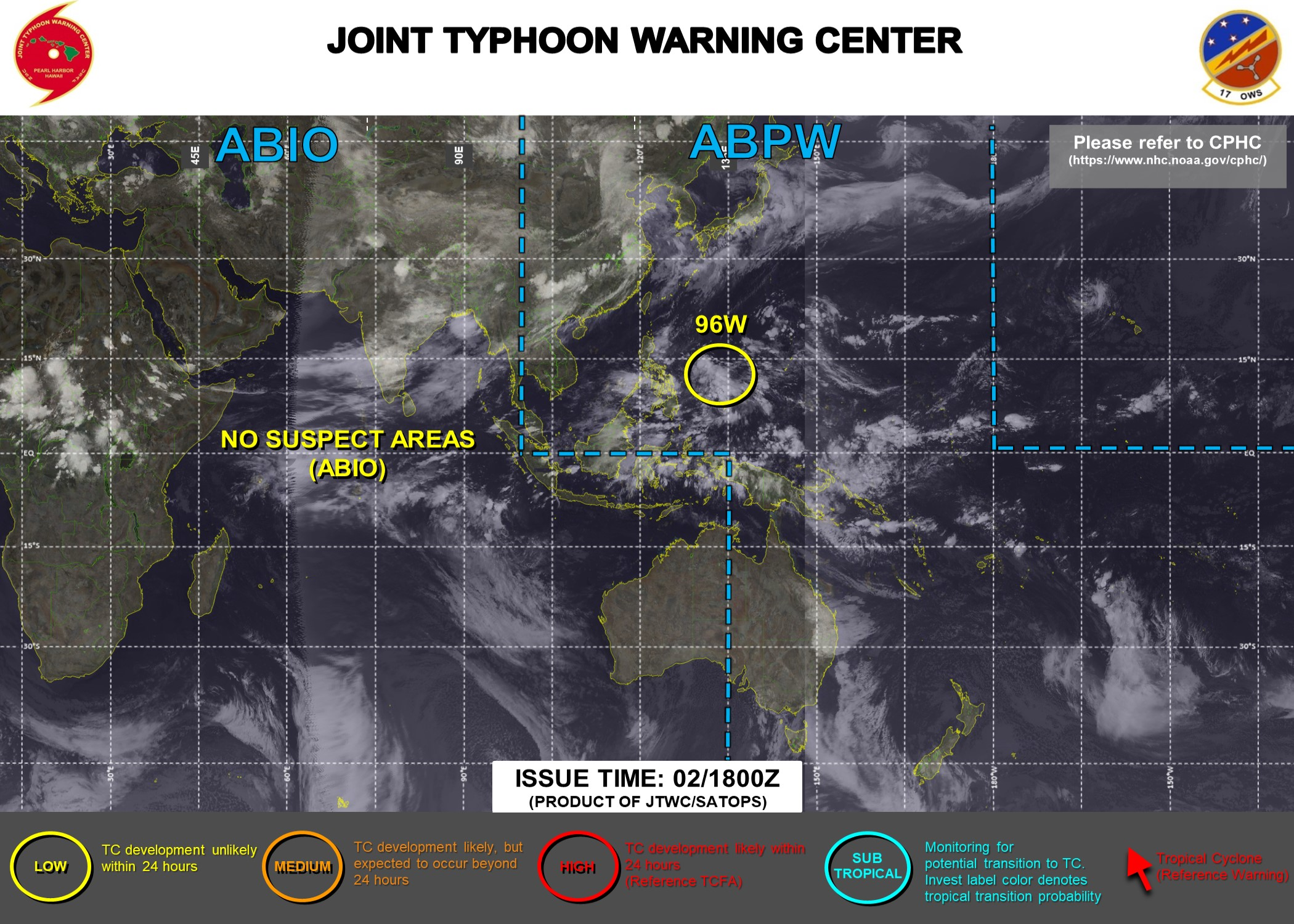 Western North Pacific: Invest 96W now on the map// North Atlantic: 05L(ELSA) reached Hurricance Category 1, 02/18utc updates