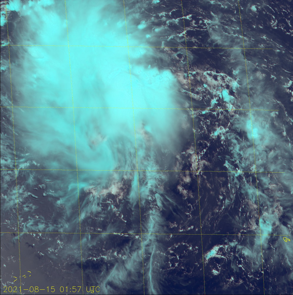 TD 16W.SATELLITE ANALYSIS, INITIAL POSITION AND INTENSITY DISCUSSION: ANIMATED MULTISPECTRAL SATELLITE IMAGERY (MSI) DEPICTS A BROAD, EXPOSED LOW-LEVEL CIRCULATION (LLC) WITH FLARING DEEP CONVECTION DISPLACED OVER THE WESTERN SEMICIRCLE. MSI ALSO REVEALS A DEFINED MID-LEVEL CIRCULATION CENTER POSITIONED WEST OF THE LOW-LEVEL CIRCULATION CENTER. DUE TO THE LACK OF MICROWAVE IMAGERY AND THE BROAD NATURE OF THE LLC, THERE IS LOW CONFIDENCE IN THE INITIAL POSITION. HOWEVER, A 142155UTC ASCAT-A PARTIAL IMAGE COVERING THE SYSTEM CENTER SHOWS A BROAD CIRCULATION WITH EXTENSIVE 5-KNOT WINDS AND A SWATH OF 20-25 KNOT WINDS DISPLACED 220KM TO THE NORTHEAST. THE ASCAT-A IMAGE SUPPORTS THE DECISION TO DOWNGRADE THE SYSTEM TO TD STRENGTH (30 KNOTS) WITH LOW CONFIDENCE. ALTHOUGH VERTICAL WIND SHEAR VALUES ARE LOW, DIFFLUENT UPPER-LEVEL EASTERLY FLOW OF 20-30  KNOTS OFFSET BY MODERATE WESTWARD OUTFLOW, ENHANCED BY A TUTT CELL  TO THE NORTHWEST, AND DRY AIR ENTRAINMENT ARE HINDERING SUSTAINED  CONVECTION AND LIMITING DEVELOPMENT.