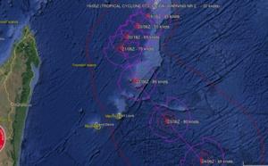 CILIDA: second bulletin de prévisions du Joint Typhoon Warning Center