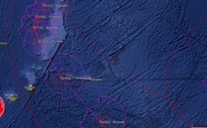 CILIDA: prévisions: cyclone intense Samedi