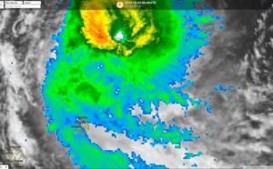 Le cyclone intense CILIDA à 300km de Maurice
