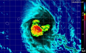 Le cyclone CILIDA fonce vers le sud est