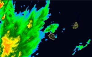 Fortes averses et orages possibles sur plusieurs régions de la Réunion